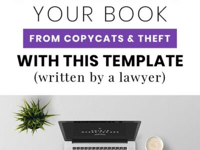 eBook Copyright and Disclaimer Page Template