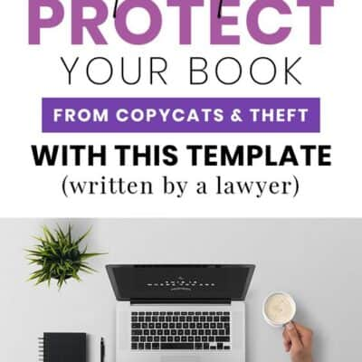 Protect Your eBook with this Disclaimer and Copyright Page Template