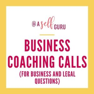 business coaching calls aselfguru