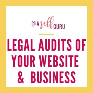 legal audit of website and business