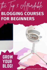 5 blogging courses