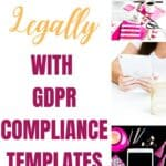 GDPR for bloggers how to blog legally