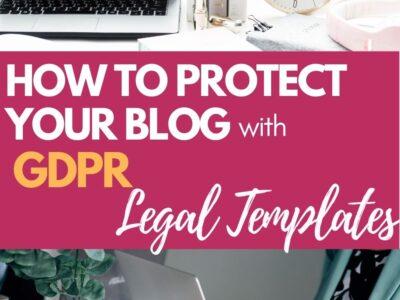 gdpr compliance legal templates