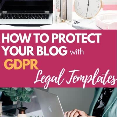 GDPR  for Bloggers: How to Avoid Scary Legal Issues with Your Blog