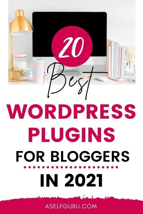 best WordPress plugins for blogs in 2021