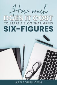 How much does it cost to start a blog that makes money!
