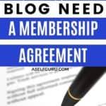membership agreement