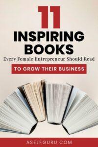 11 Best books for female entrepreneurs
