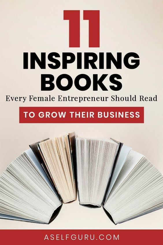 11 Best books for female entrepreneurs
