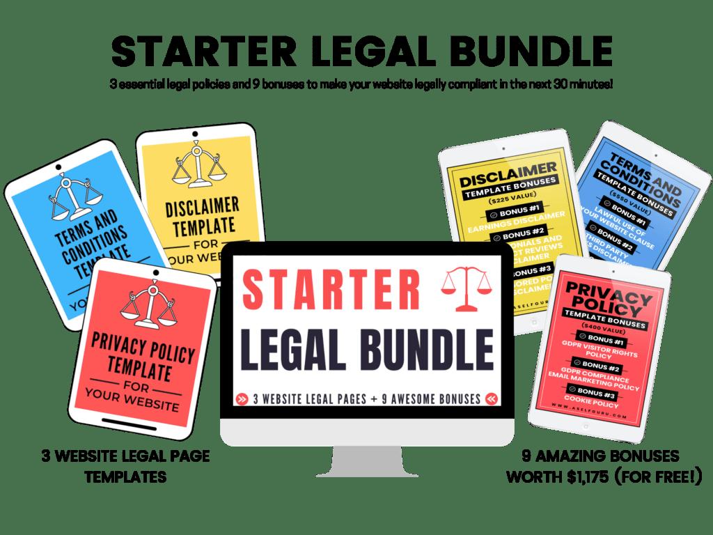 Starter Legal Bundle aselfguru legal templates