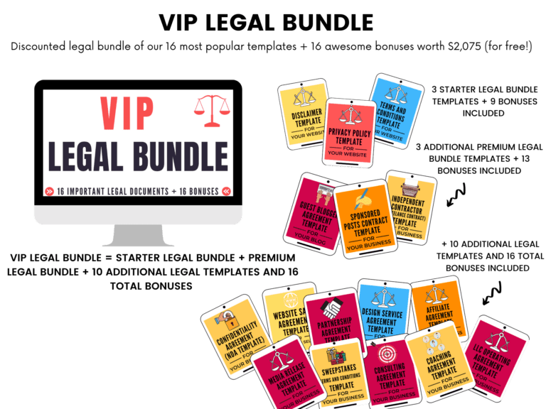 VIP legal bundle aselfguru amira legal templates