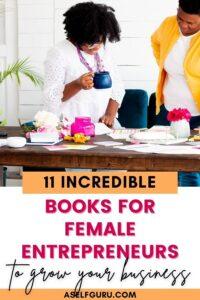 books for female entrepreneurs women working at a desk
