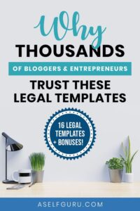 How to legally protect your blog and online business with these templates