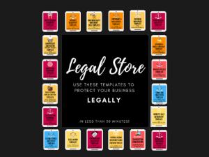 legal store aselfguru legal templates