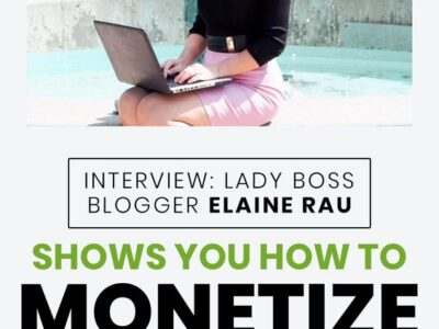 Lady Boss Blogger Elaine shows you how to monetize your blog and influence on Instagram