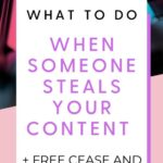 What to do when someone steals your content (legal tips from a lawyer)