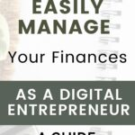 5 Steps to easily manage your finances as an entrepreneur