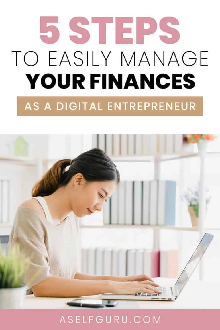 Managing your finances
