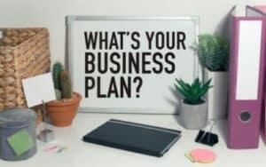 how to start a bookkeeping business-business plan-desk with office accessories
