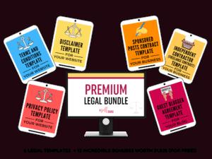 premium legal bundle set