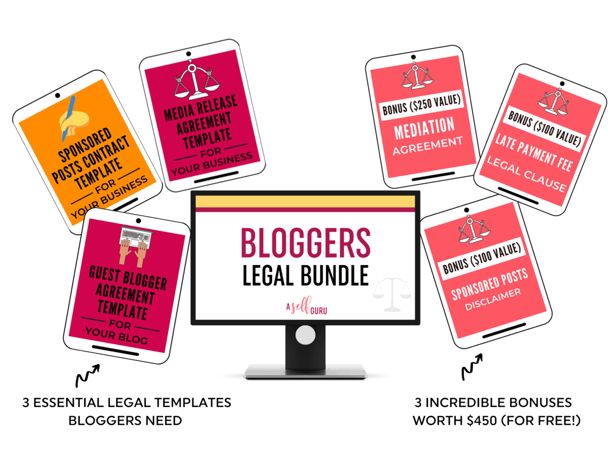 bloggers legal bundle products