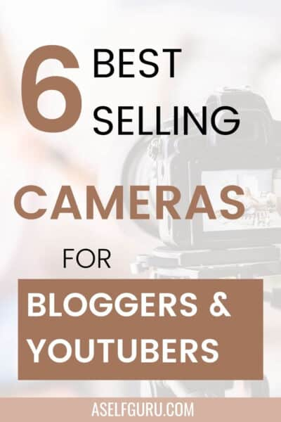 best cameras for bloggers canon blonde woman taking a picture