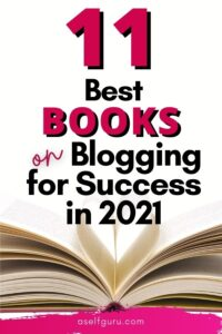book with pages open to form heart books on blogging