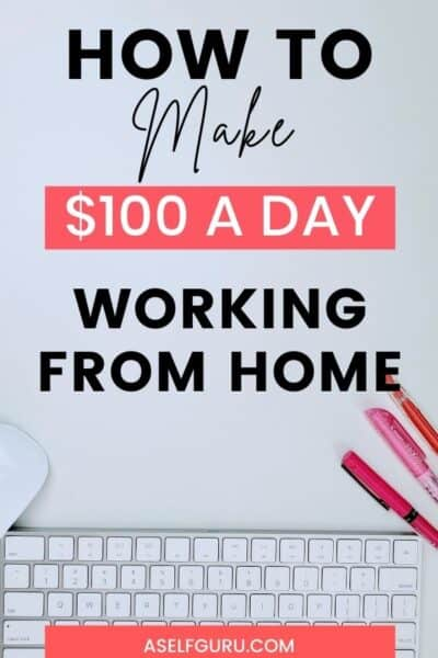 how to make $100 a day - computer mouse, keyboard, and pens