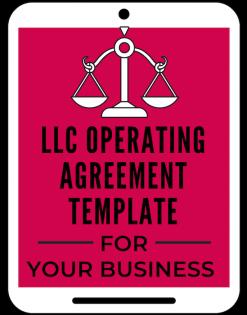 LLC Operating agreement template