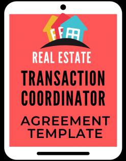 Transaction Coordinator Agreement template