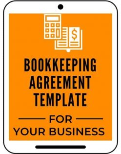 bookkeeping agreement template