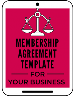 membership agreement template